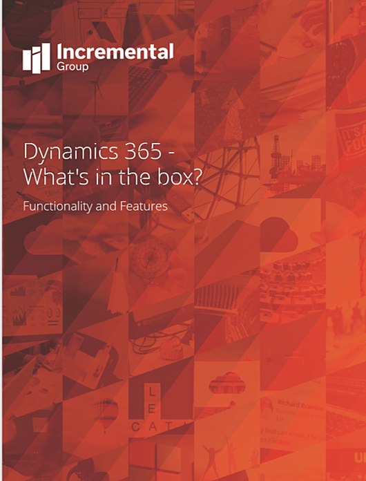 Dynamics 365 - Whats in the box v1.1