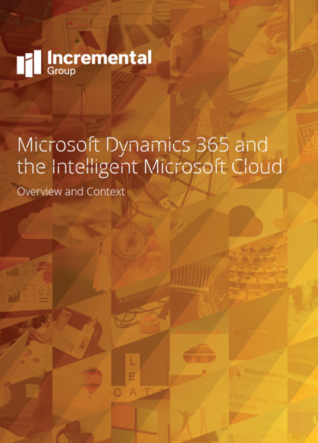 Dynamics 365 and cloud - cover v1