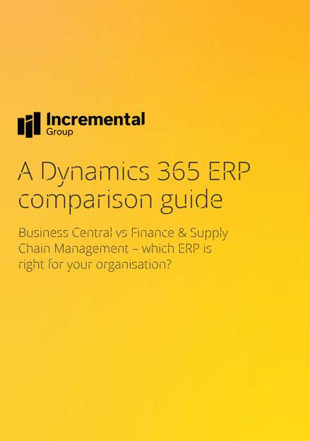 ERP comparison guide cover
