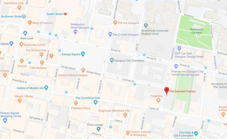 GF map