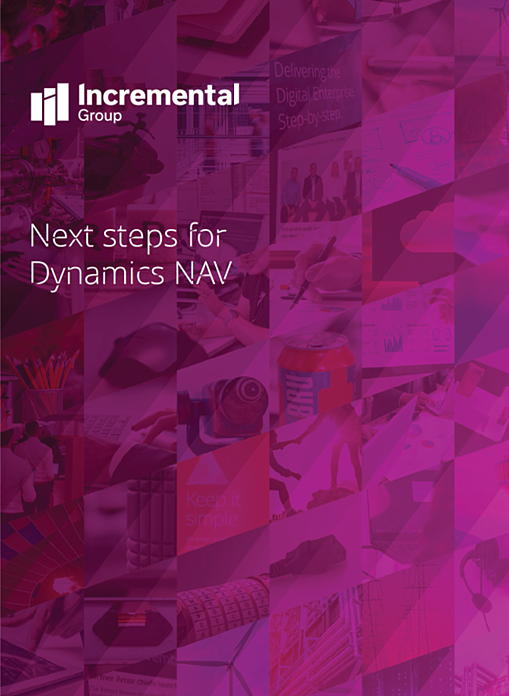 Next Steps for Dynamics NAV cover
