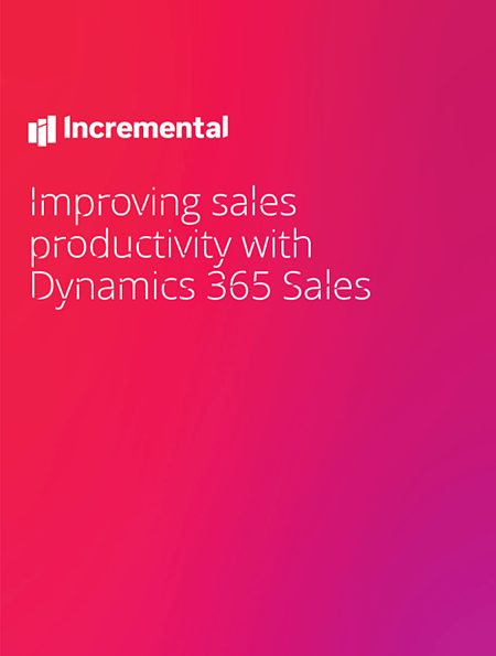 Sales productivity cover
