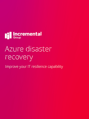 azure disaster recovery guide cover-1