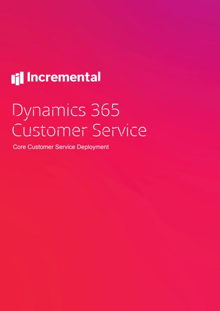 core customer service deployment cover