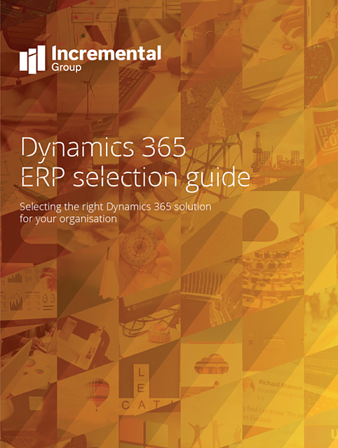 dynamics 365 erp selection guide