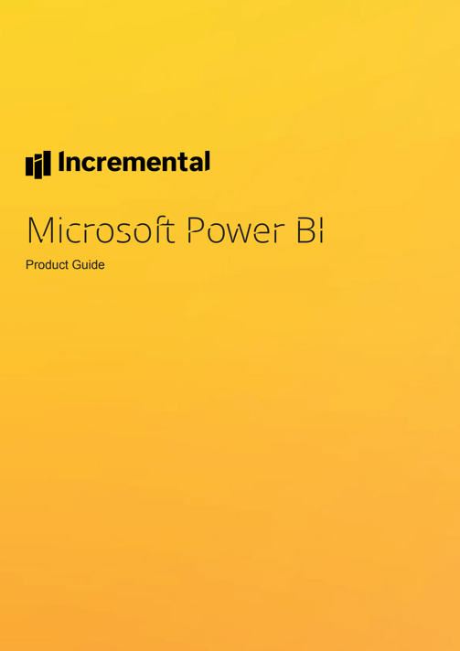 power bi product guide cover