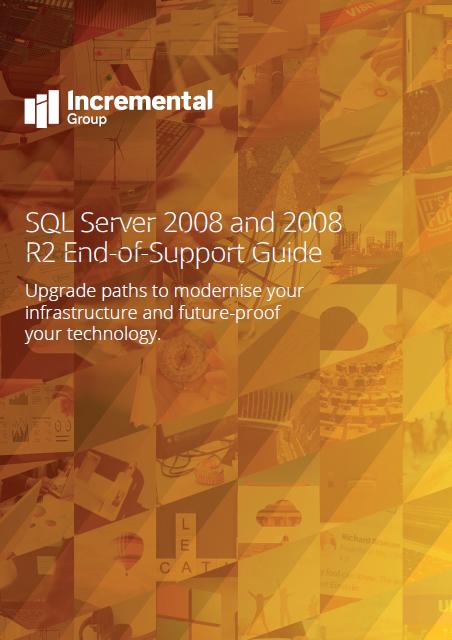 sql server 2008 end support