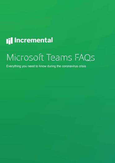 teams FAQs cover